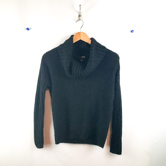 a.n.a Sweaters - a.n.a. Cowl Neck Pullover Sweater Womens Sz Sm Blk